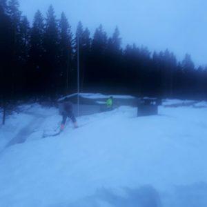 Lumenpudotusta Varkaudessa joulukuussa